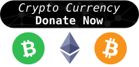 Donate with Cryptocurrency